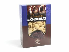 Dragée chocolat 54% cacao 1Kg - Ecru