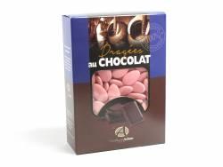 Dragée chocolat 54% cacao 1Kg - Rose Nacré