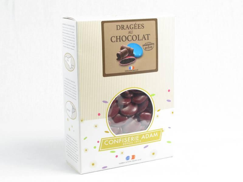 Dragée chocolat 54% cacao 1Kg - Bordeaux