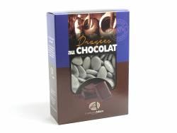 Dragée chocolat 54% cacao 1Kg - Gris Lune