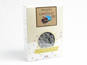 Dragée chocolat 54% cacao 1Kg - Gris