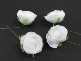 Fleur Renoncule blanc pour déco mariage x4