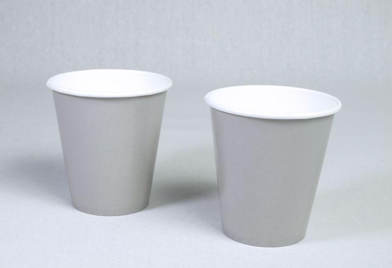 Gobelet carton biodégradable compostable gris 25cl