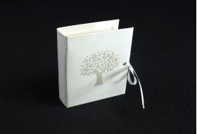 Ballotin à dragées Livre arbre de vie 7cm – Beige