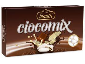 Dragée chocolat au lait et blanc 500g - Blanc
