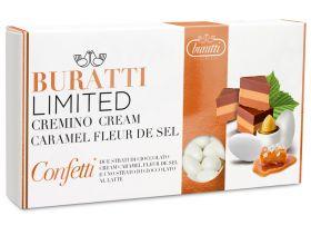 Dragée amande chocolat caramel beurre salé 1Kg - blanc