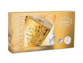 Dragée amande chocolat blanc saveur champagne 1Kg - Blanc