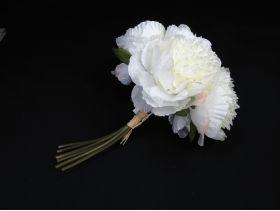Bouquet de pivoines blanches