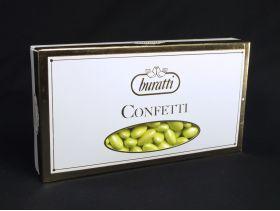 Dragée amande perle sucrée vert 1Kg
