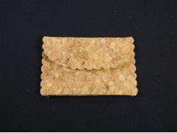 Petite pochette en liège déco de table x4