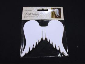 Marque place ailes d'ange à accrocher x10