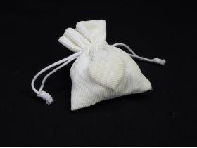 Sachet doudou 10cm – Blanc