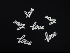 Love à disperser blanc