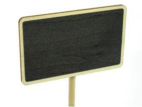 Ardoise sur socle pour déco de table 23cm