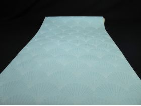 Chemin de table gala – Coquille bleue