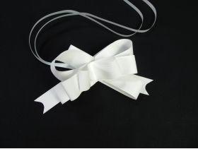Noeud papillon déco mariage 12cm – Mat Blanc