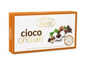 Dragée boule crème de noisette chocolat 1Kg - Blanc
