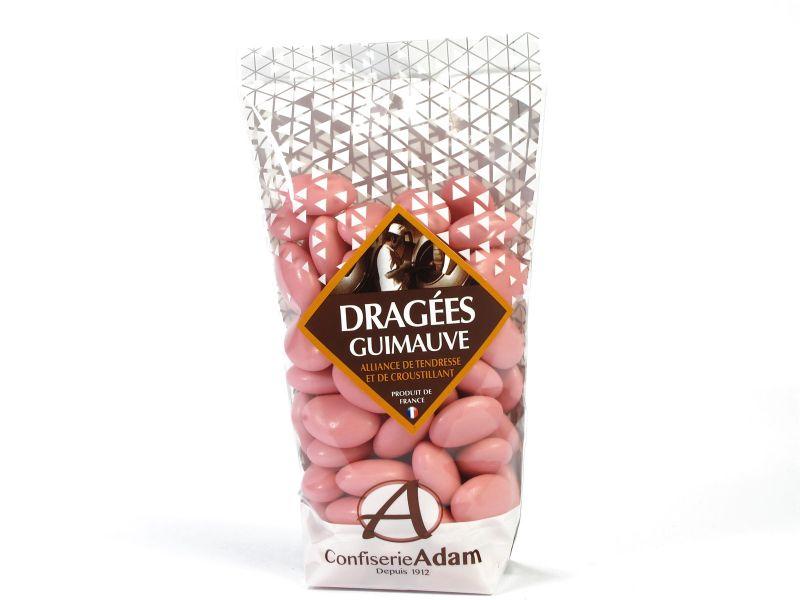 Dragée guimauve et chocolat – rose nacre 250g