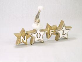 Etoile Noel Bonnet /1 Blanc Or