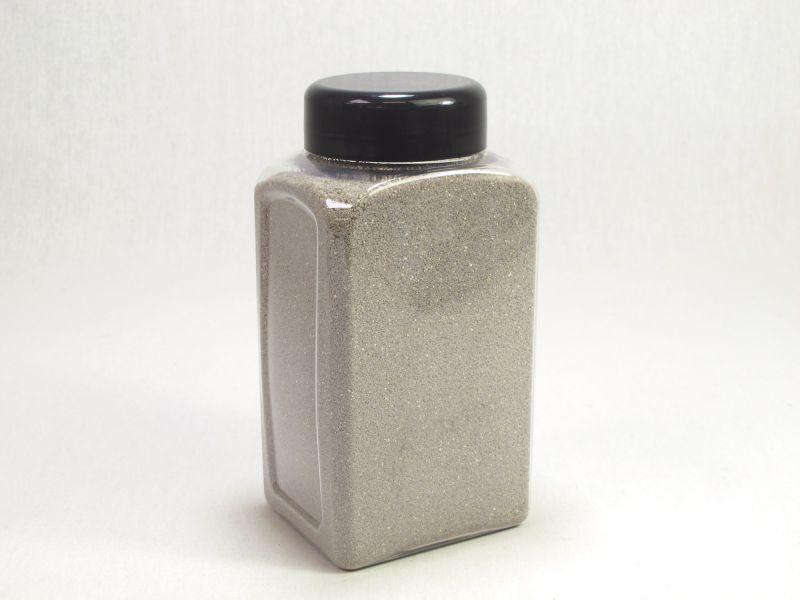 Sable gris décoratif coloré pour vase ø0,5mm 800ml