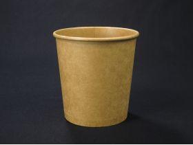 Pot à soupe carton kraft brun x25