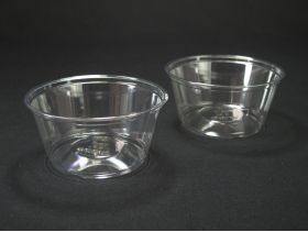 Pot dessert rond plastique apet transparent TS5 147cl
