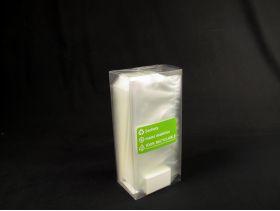 Sachet bonbon 10x22cm plastique pp transparent fond plat