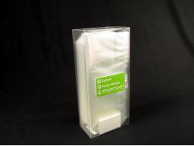 Sachet bonbon 12x27,5cm plastique pp transparent fond plat