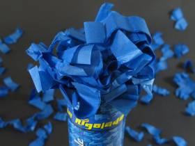 Petit Canon à confettis - Bleu Roi